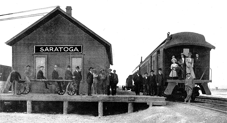 Saratoga and Encampment Railway Co., ca. 1910